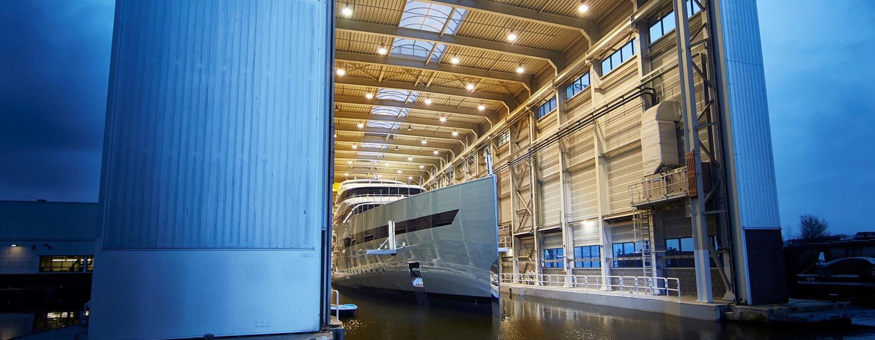 Feadship Shipyard Header