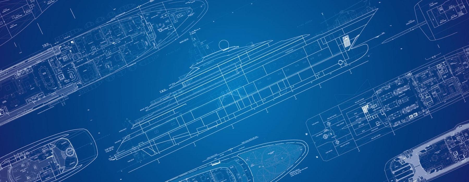 Luxury Yacht Construction Blueprint