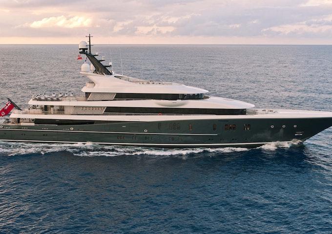 Lurssen Yacht PHOENIX 2 Profile