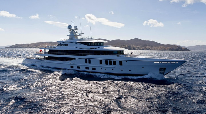 Amels Luxury Yacht PLVS VLTRA Profile