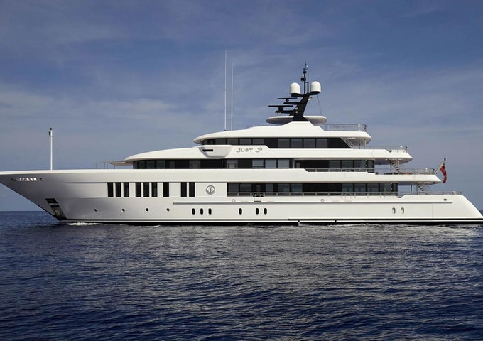 Yacht JUST J'S Built By Hakvoort