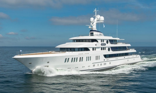 Lurssen Luxury Yacht AURORA Profile
