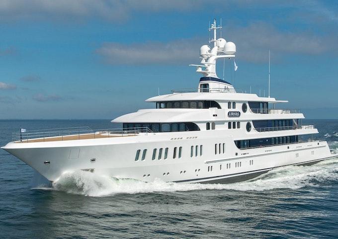 Lurssen Luxury Yacht AURORA Profile