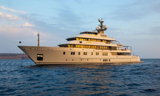 Lurssen Luxury Yacht POLAR STAR