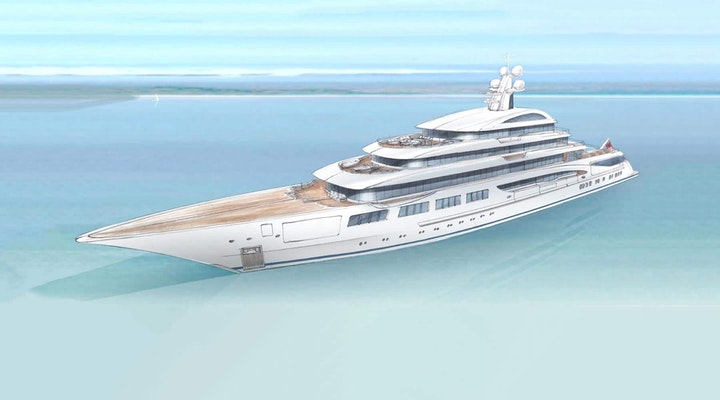 Lurssen Project GRANDE Under Construction