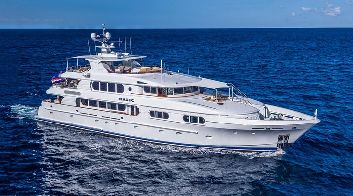 Northern Marine Luxury Yacht MAGIC Profile