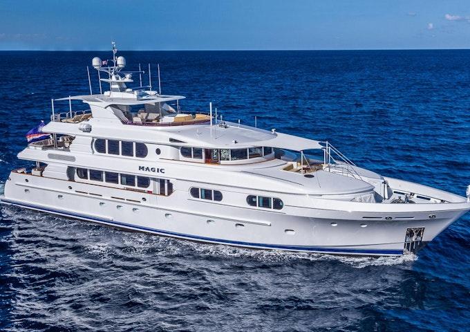 Northern Marine Luxury Yacht MAGIC Profile