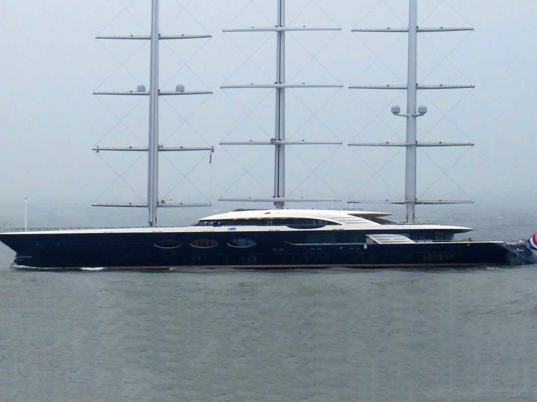 Oceanco Project SOLAR Under Construction