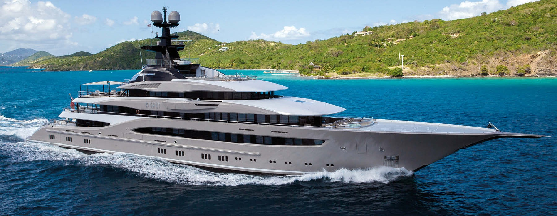 Kismet Lurssen luxury yacht NEW CA FOR SALE