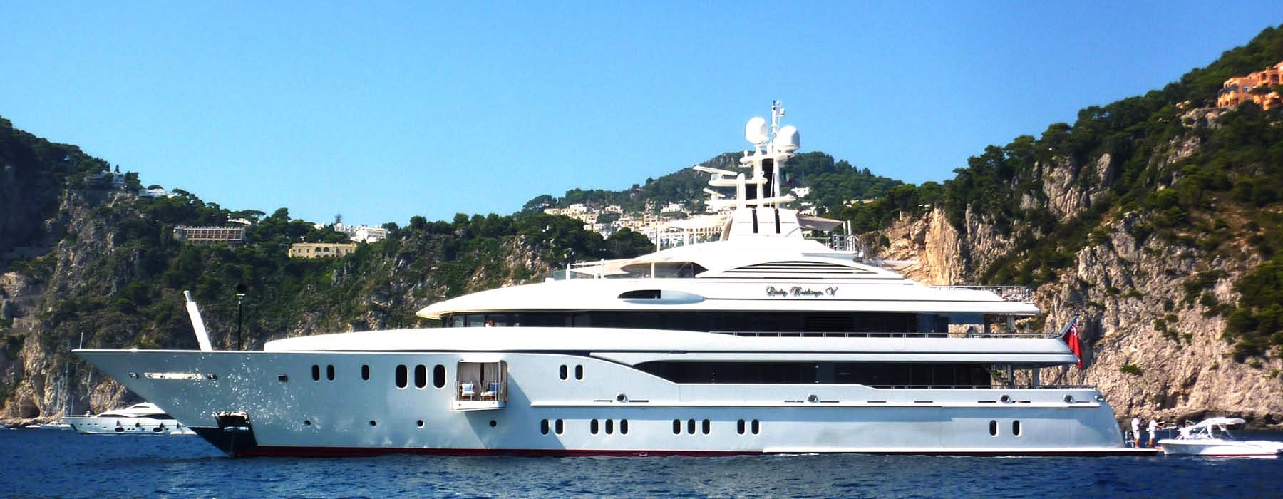 Lady Kathryn V luxury yacht