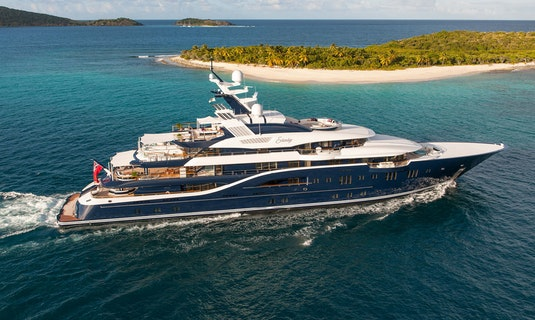 Lurssen SOLANDGE Available For Charter