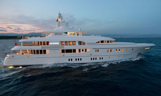 Lurssen SOLEMATES Built by Moran Yacht & Ship