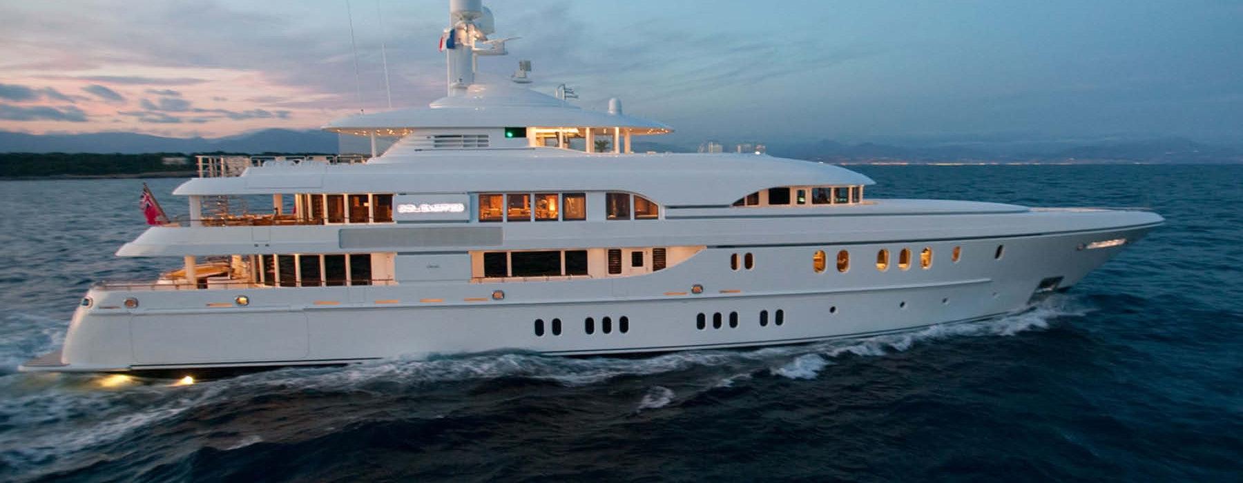 Lurssen SOLEMATES Built by Moran Yacht & Ship