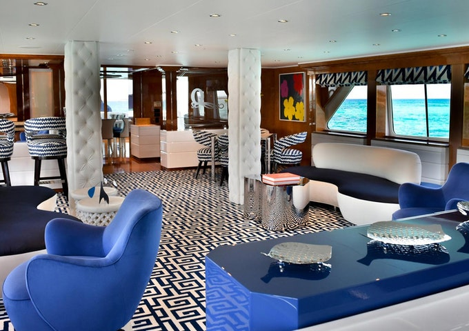 Heesen Yacht OCTOPUSSY Main Salon