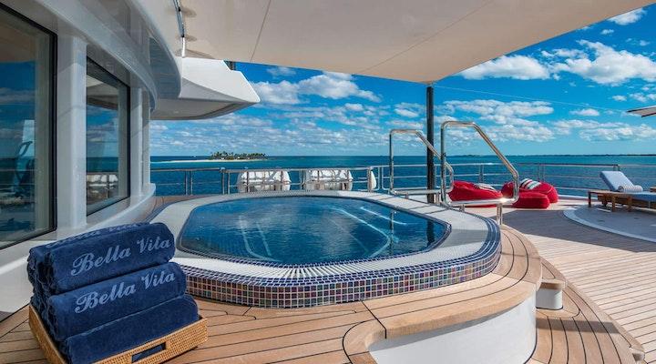 BELLA VITA luxury yacht BRIDGE DECK