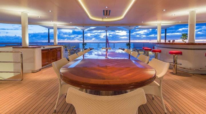 BELLA VITA luxury yacht MASTER DECK