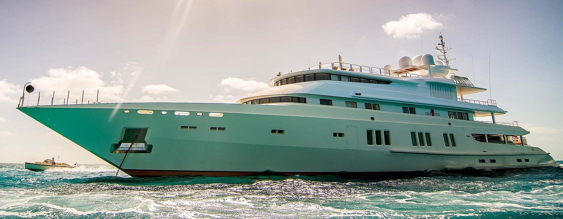 Lurssen CORAL OCEAN Now For Sale