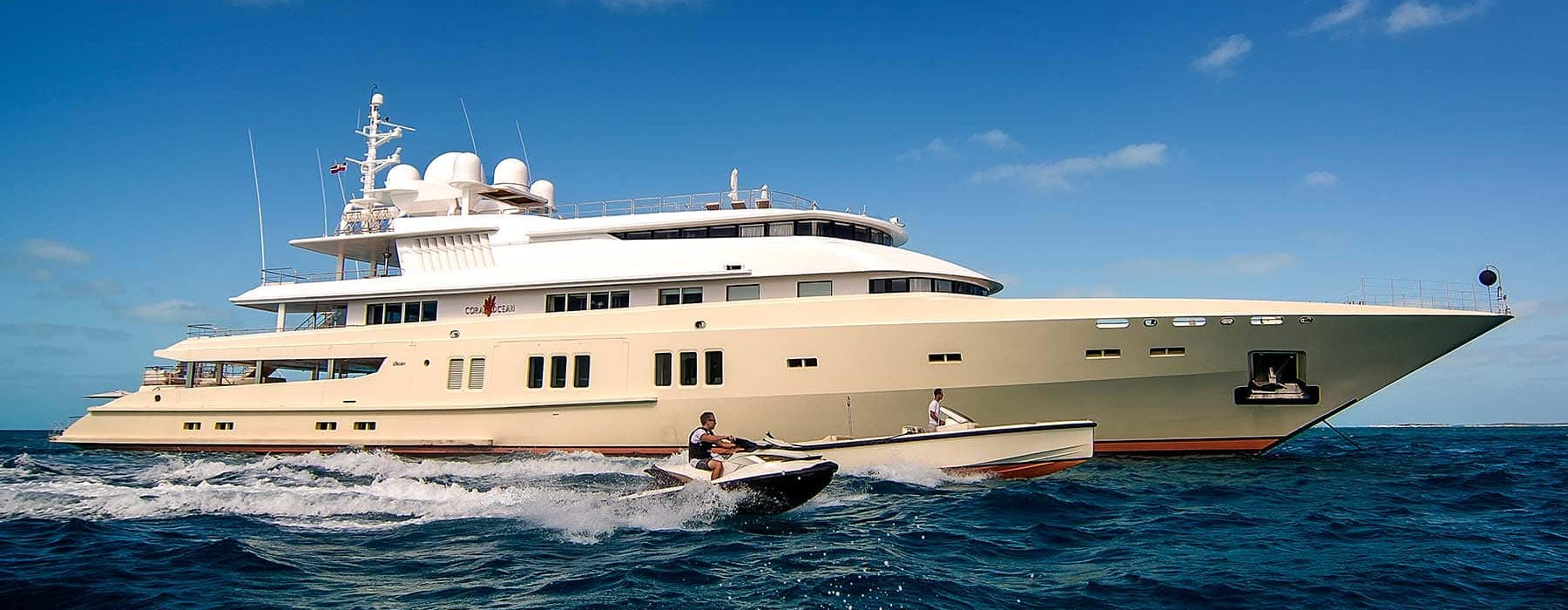 Luxury megayacht CORAL OCEAN for sale