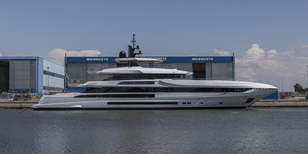 Project ALISA - 164ft (50m) Mangusta Oceano 50 Launched!