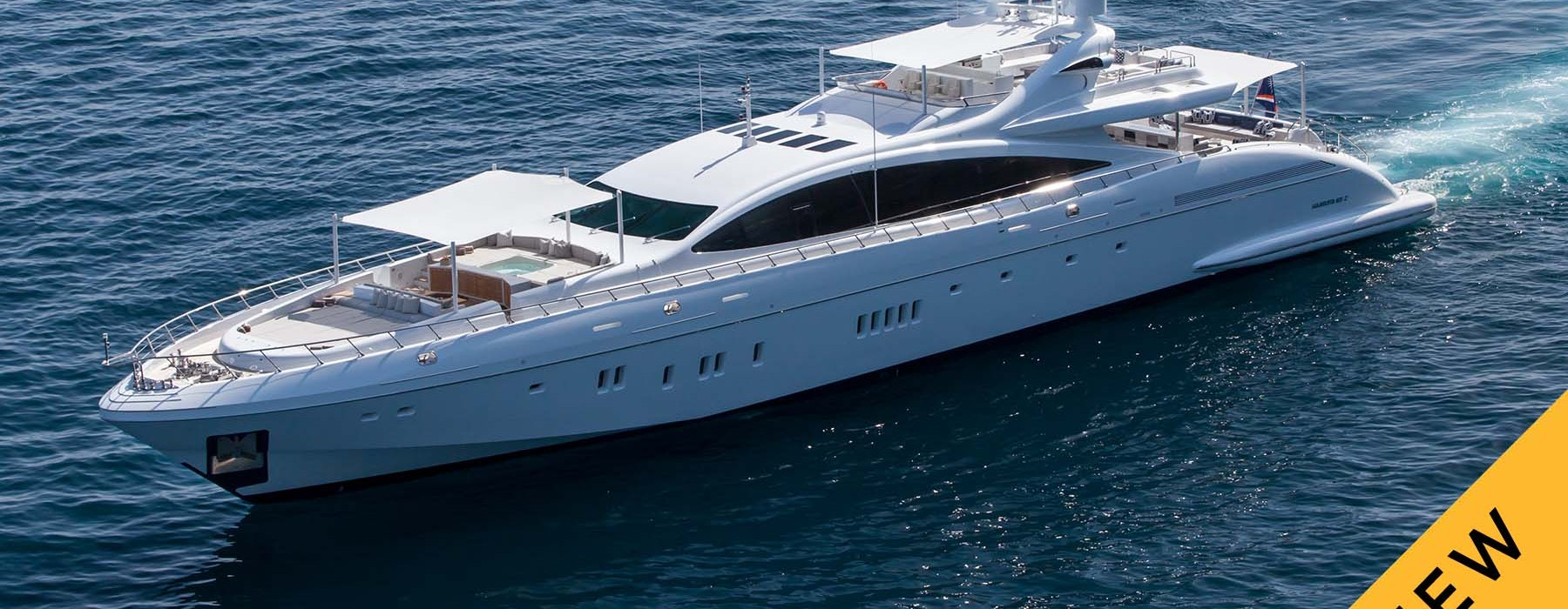 APRICITY Mangusta yacht for sale NEW