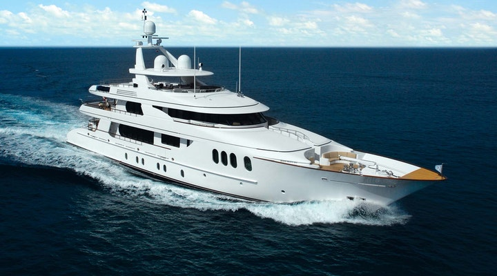 Luxury yacht for charter hakvoort AMICA MEA ex-Allegria
