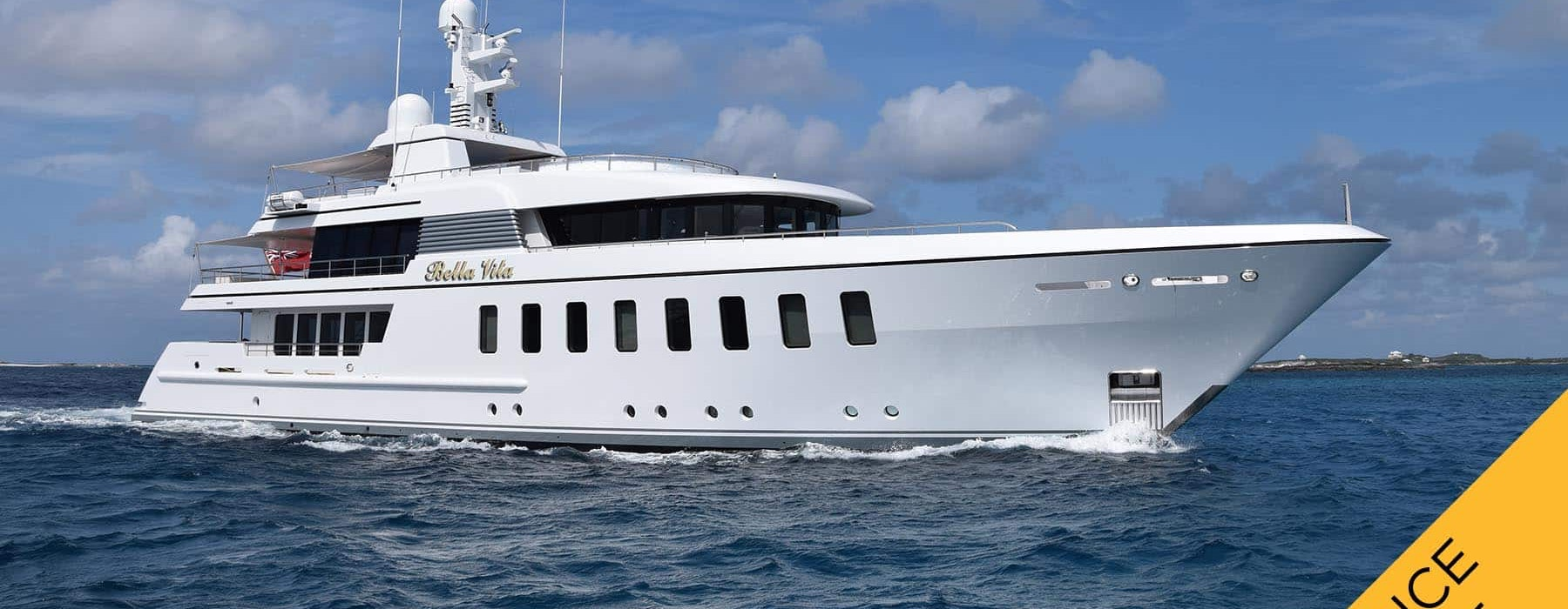 BELLA Feadship Luxury yacht for sale PRICE-REDUCED