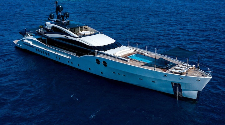 BLISS Palmer Johnson 170 yacht for sale - exterior