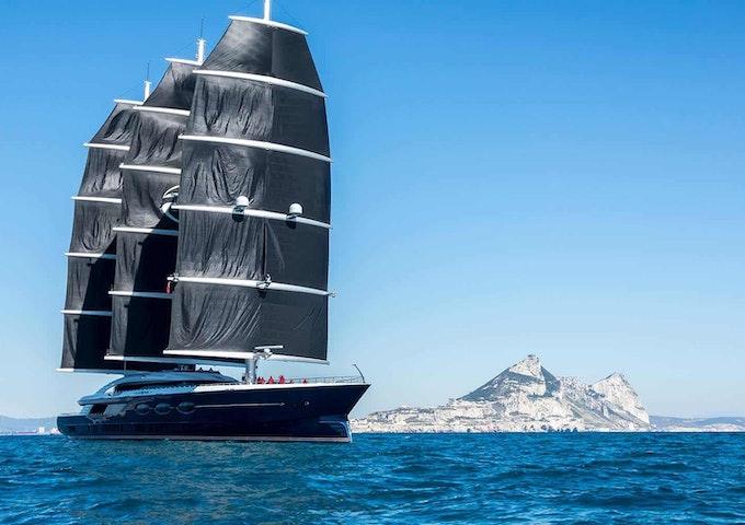 Oceanco BLACK PEARL built by Moran Yacht & Ship