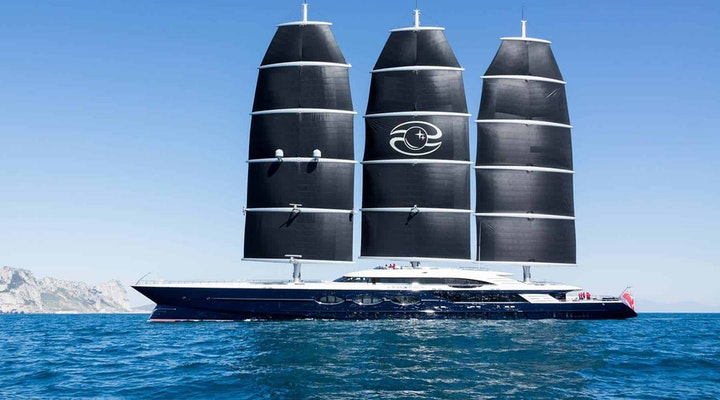Oceanco BLACK PEARL built by Moran Yacht & Ship
