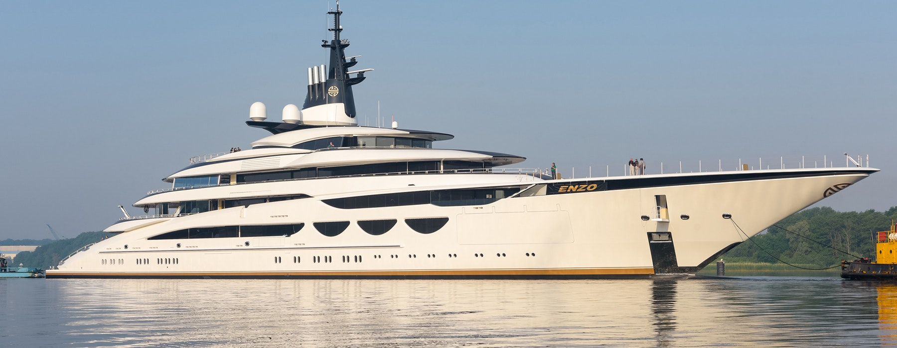 Completed luxury yacht project ENZO Lurssen