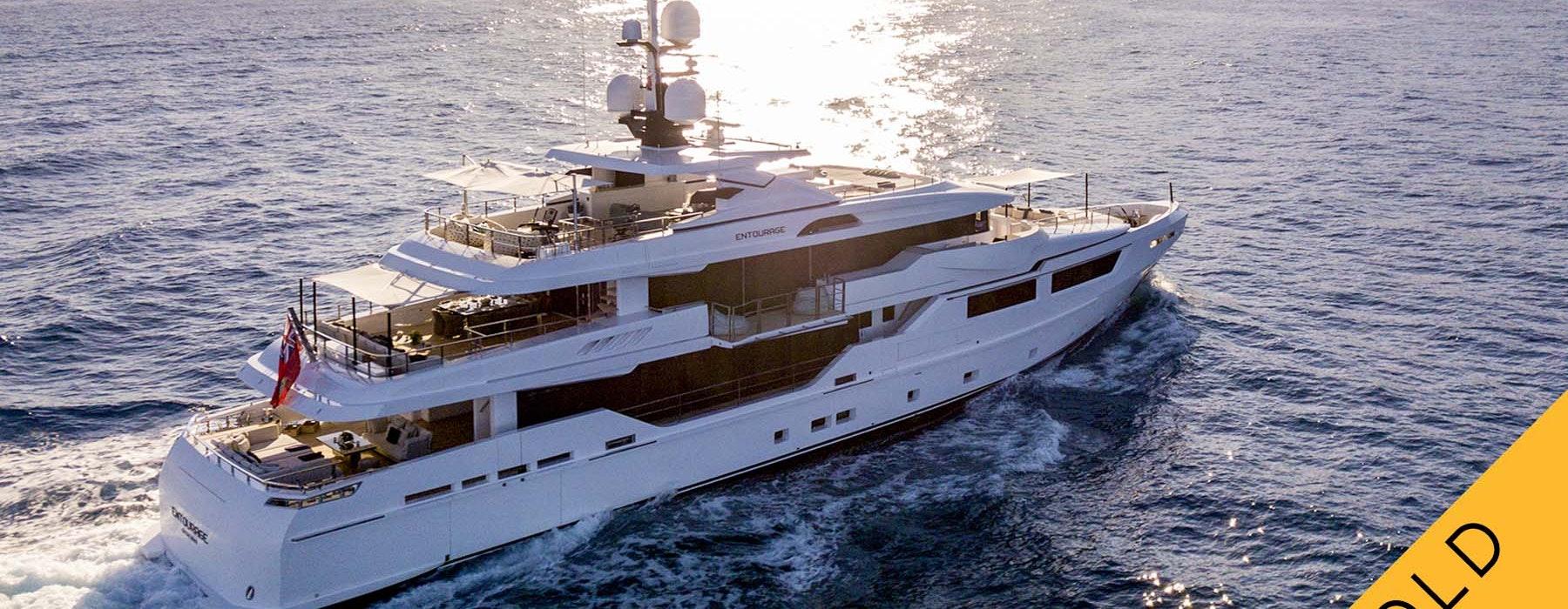 ENTOURAGE Admiral Luxury yacht SOLD