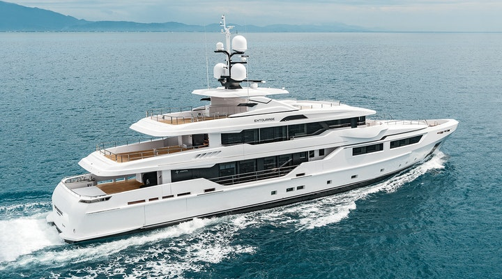 ENTOURAGE Admiral luxury yacht for sale Exterior photo