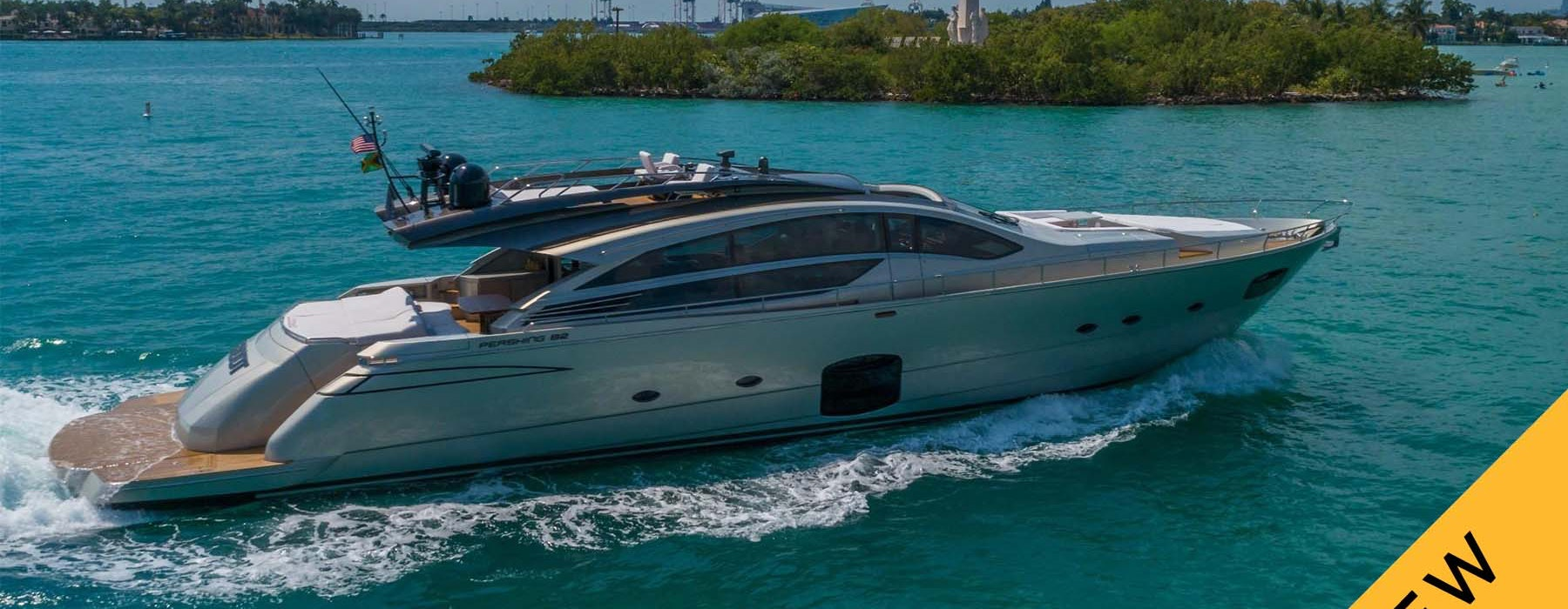 high-performance yacht Pershing GROOT for sale