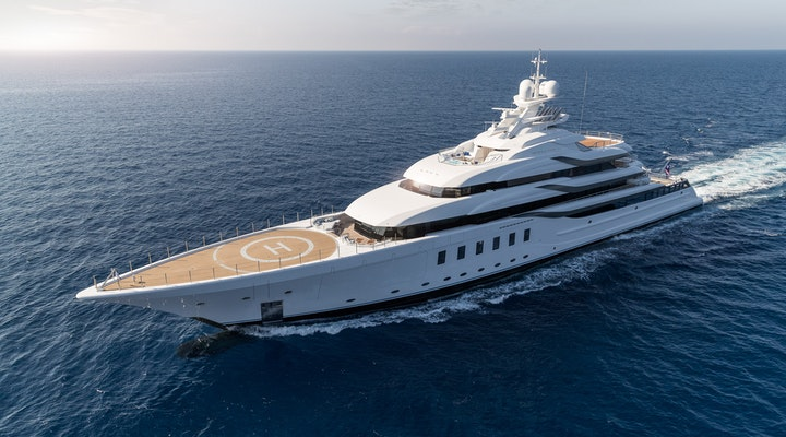 Lurssen MADSUMMER For Charter Profile