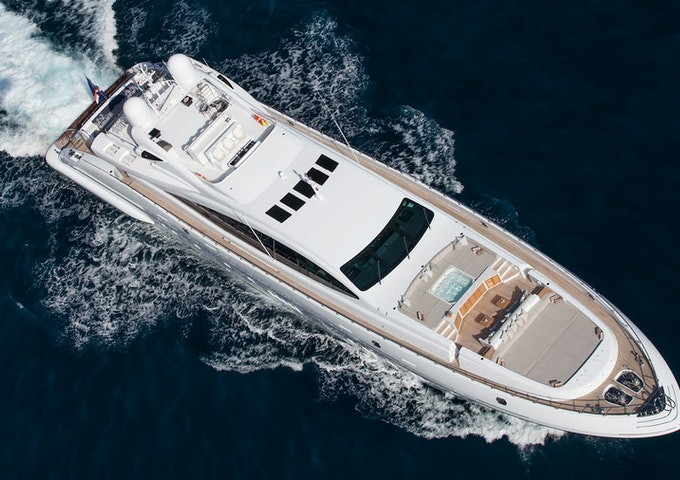 Luxury motor yacht Mangusta 165 APRICITY for sale