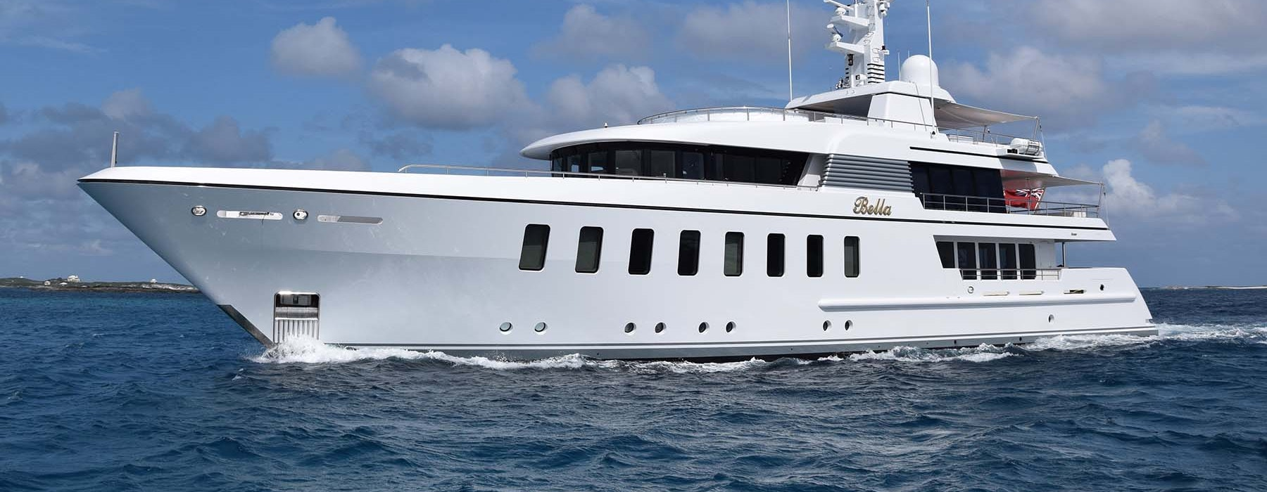 Luxury motoryacht for sale BELLA 45m Feadship
