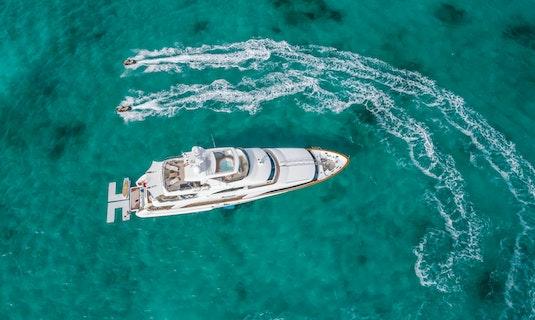 NAMASTE Yacht Benetti Aerial