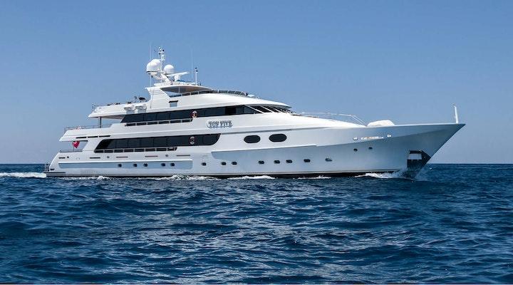 Luxury yacht Christensen TOP FIVE for Sale