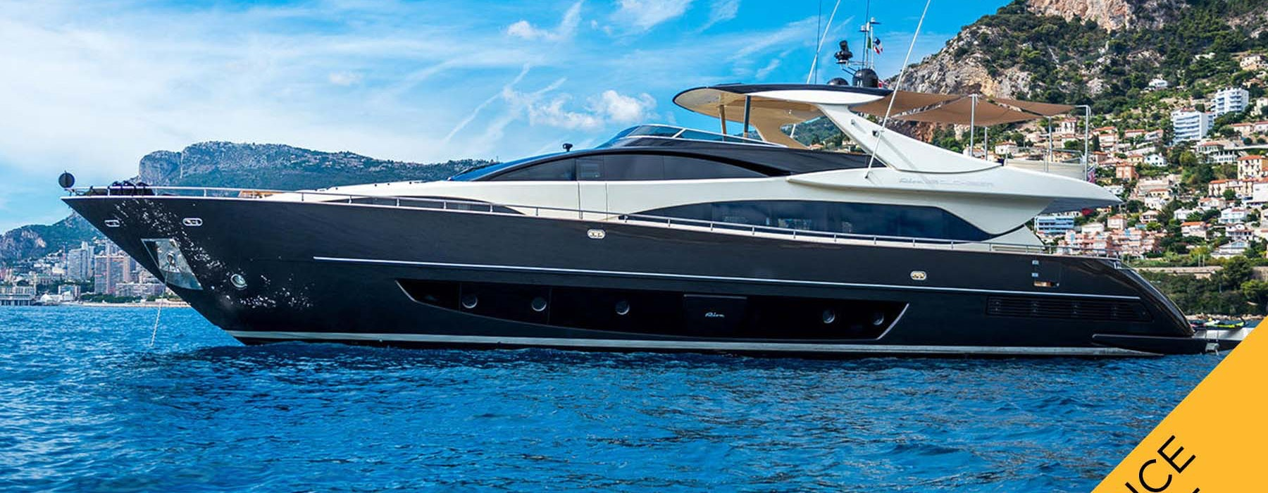 Luxury yacht RIVA 92 Eva Sofia for sale Price Reduced