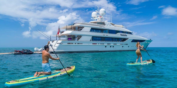 Luxury yacht for charter HOSPITALITY Westport