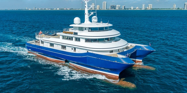 Luxury yacht for sale Abeking & Rasmussen SILVER CLOUD 41m Built 2008 Refit 2018