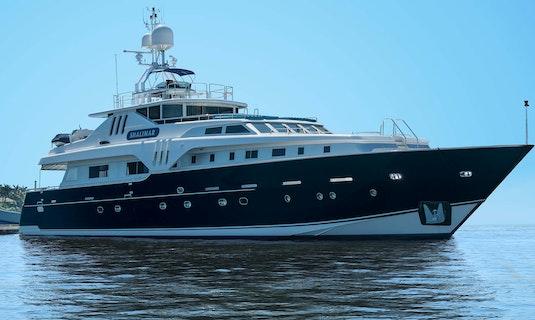 Luxury yacht for sale SHALIMAR Azimut Benetti 36m 1994 Refit 2019