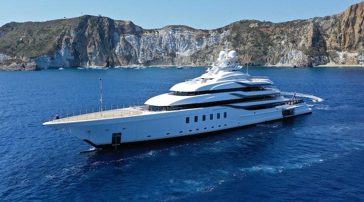 Lurssen Madsummer Yacht For Charter