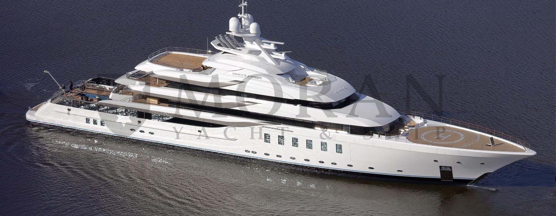 Megayacht Lurssen 95m MADSUMMER under construction by Moran Yacht and Ship