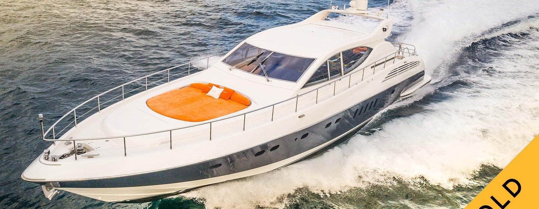 Motor yacht DOLCE-VITA-II SOLD by Moran Yacht & Ship