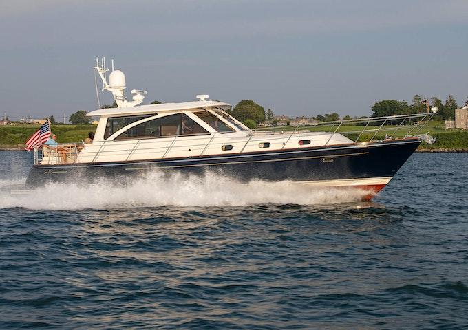 motor yacht hunt 52 KALEEN for sale