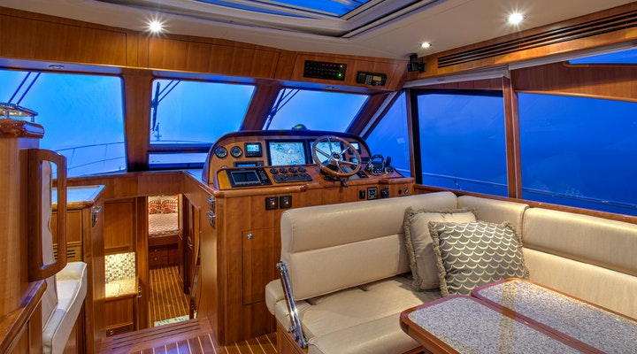 motor yacht hunt 52 KALEEN for sale