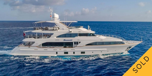 Luxury yacht Benetti NAMASTE Sold