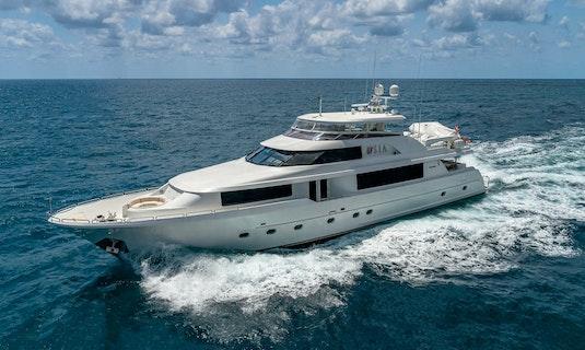 TASIA Westport 112 luxury yacht for sale