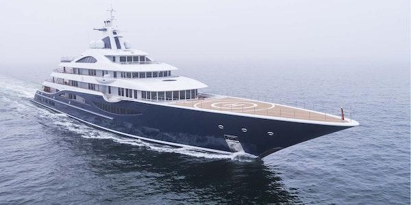 Megayacht TIS Lurssen seatrials completed